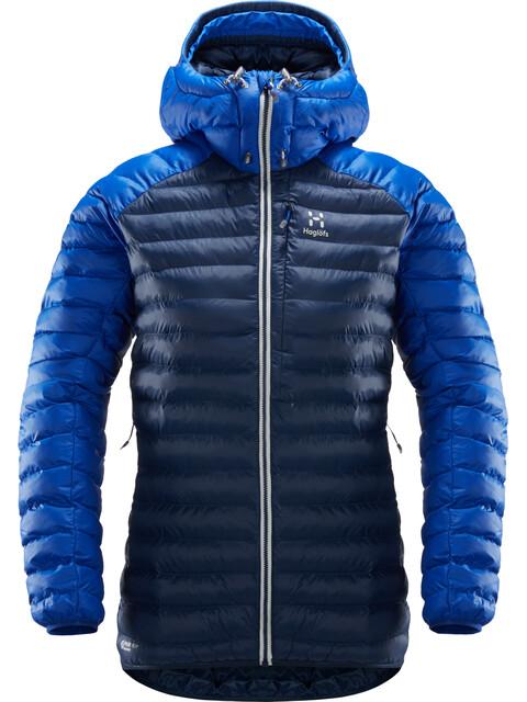 Haglöfs W's Essens Mimic Hood Jacket Tarn Blue/Cobalt Blue